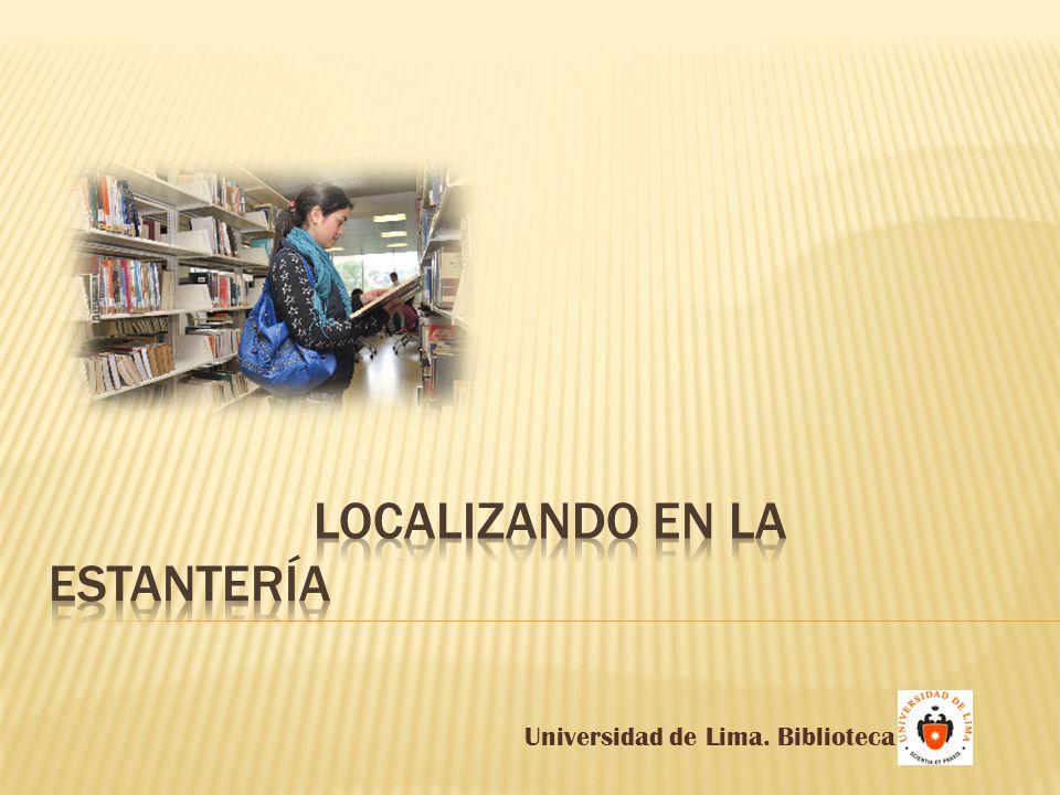 Universidad de Lima. Biblioteca
