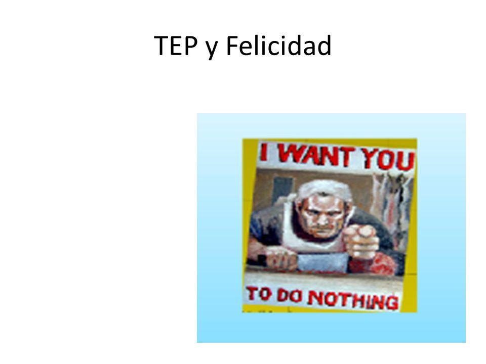 TEP y Felicidad