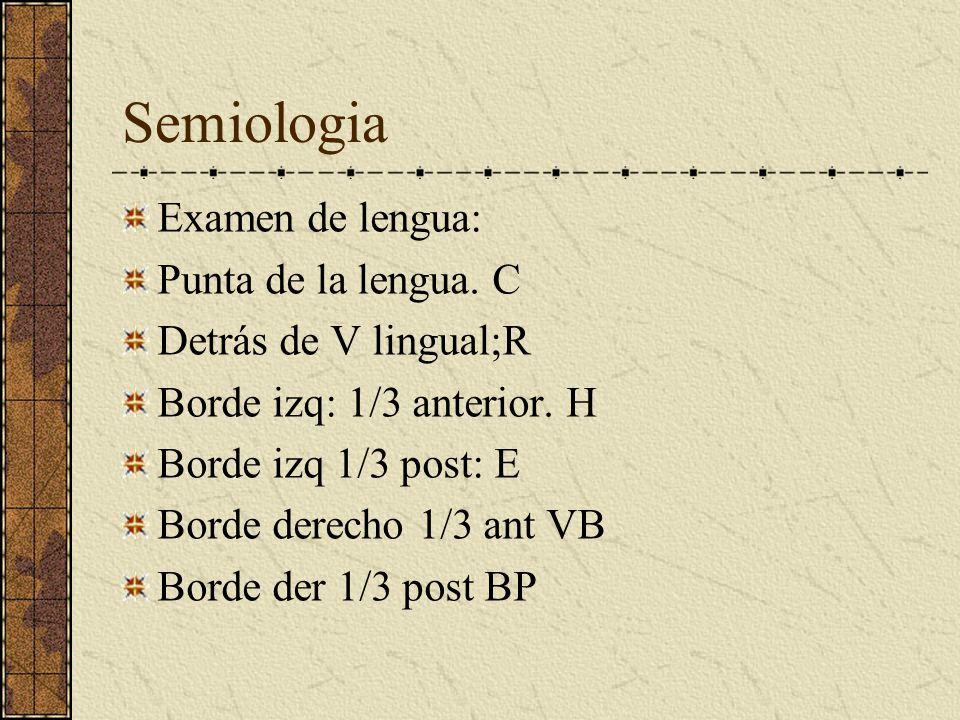 Semiologia Color de Tez. Enf cardiacas:color rojo Enf del H. Color verde Enf BP. Color amarillo Enf P: Color blanco Enf R: Color negro