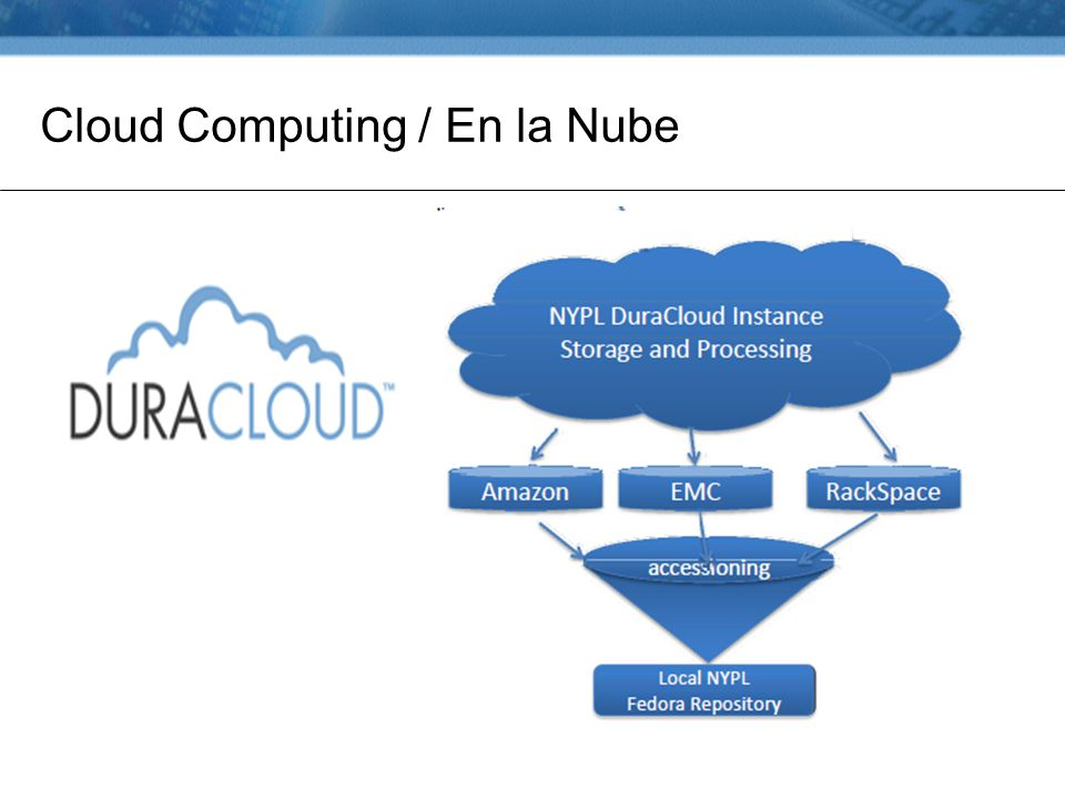 Cloud Computing / En la Nube