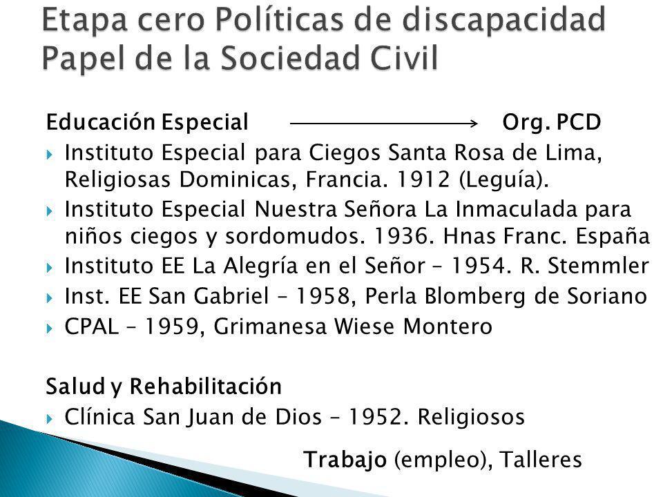 Educación Especial Org.