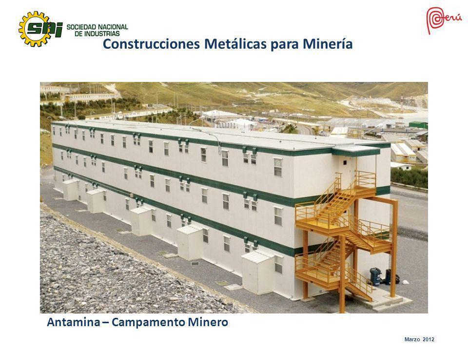 Antamina – Campamento Minero Construcciones Metálicas para Minería