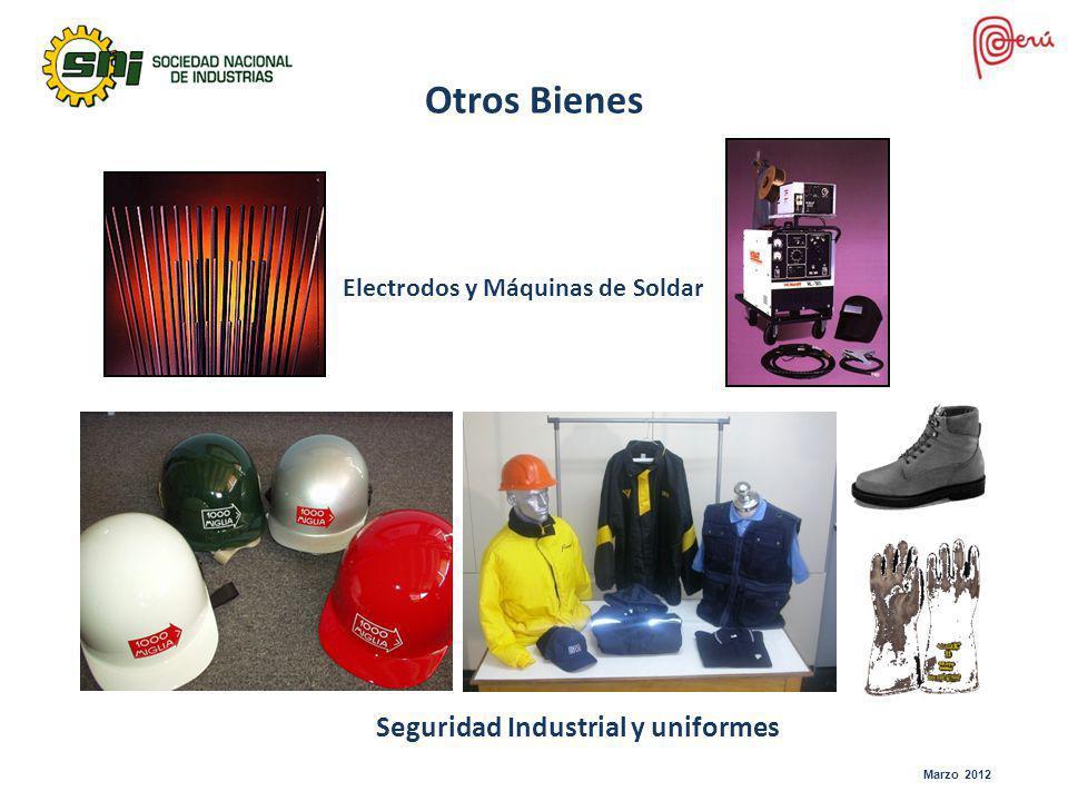 Electrodos y Máquinas de Soldar Otros Bienes Seguridad Industrial y uniformes