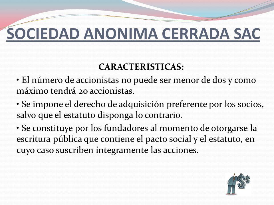 El Capital Social está representado por acciones nominativas y se conforma con los aportes (en bienes y/o en efectivo de los socios, quienes no responden personalmente por las deudas sociales Es una persona jurídica de Responsabilidad Limitada.