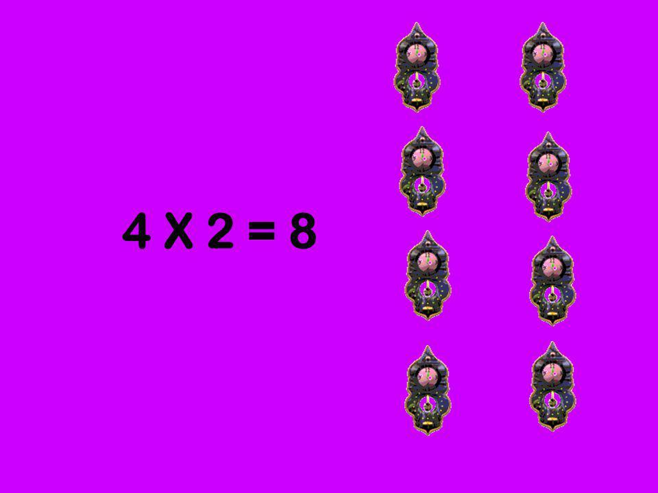4 grupos de 2