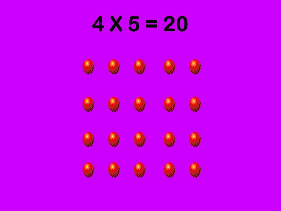 4 grupos de 5