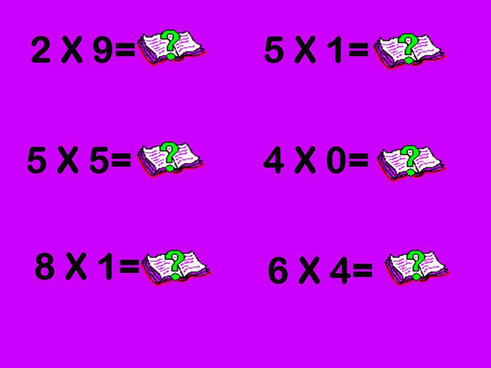 En una hoja, dibuja los grupos que representa cada multiplicación. Luego resuelve y haz click para escontrar la respuesta.