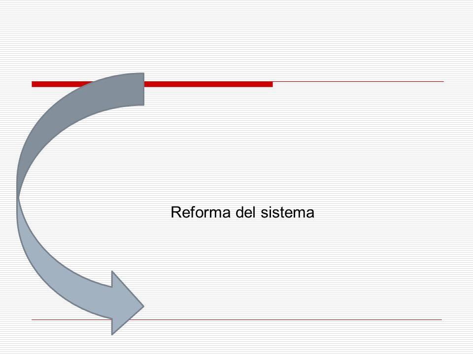Reforma del sistema