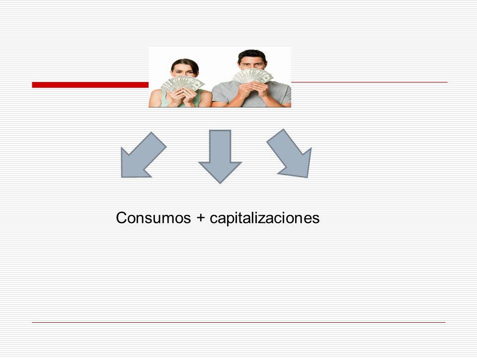 Consumos + capitalizaciones