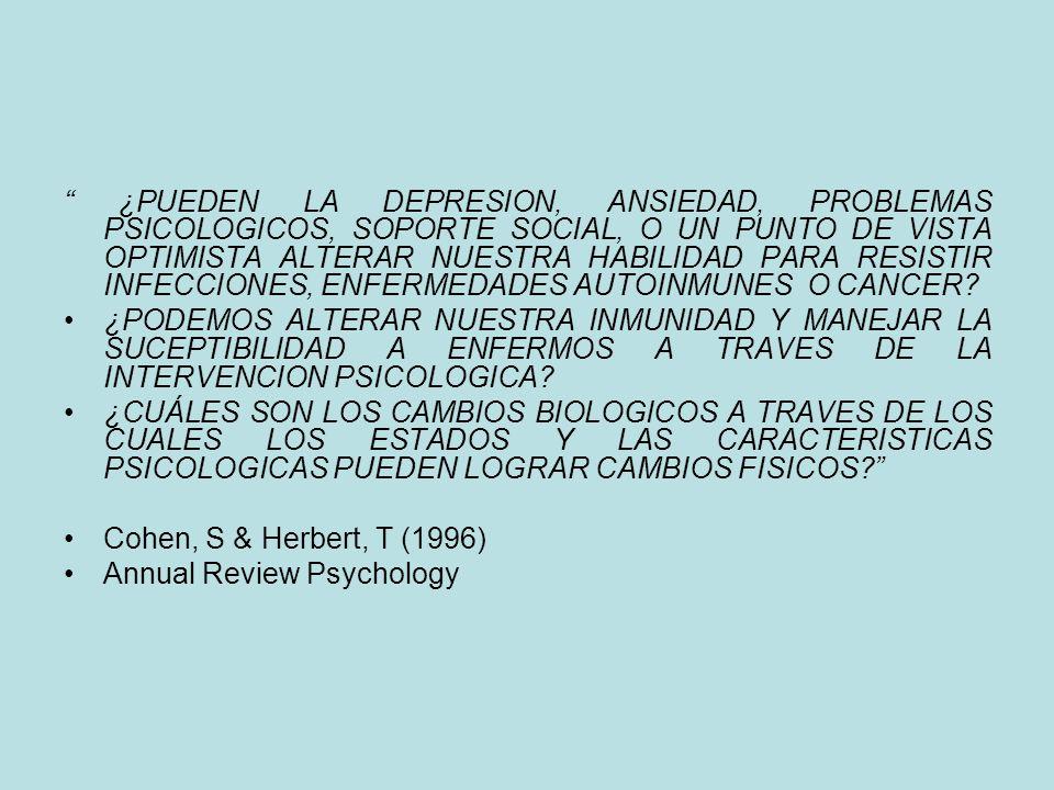 ¿QUÉ ES LA PSICONEUROINMUNOLOGIA? Es una ciencia transdisciplinaria que estudia la comunicación entre la mente, Cerebro, el Sistema Inmune y el Sistem