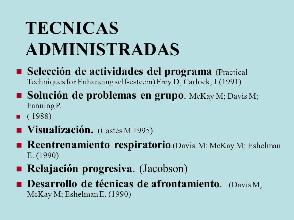 METODOLOGÍA El grupo control recibió tratamiento antiasmático convencional: beclometasona inhalada de mantenimiento (100 mcg, 2 veces al día) y salbut