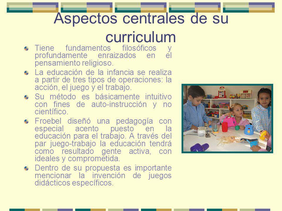 Los principios básicos del Método Decroly Escuela para la vida, por la vida , partiendo de sus concepciones pedagógicas de respeto por el niño y por su personalidad.