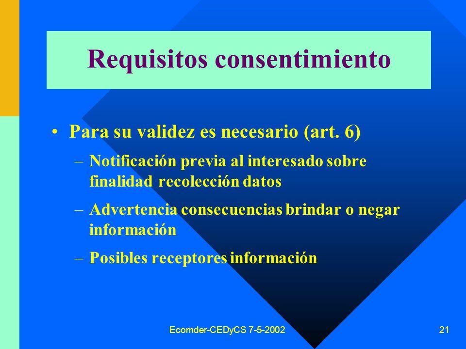 Ecomder-CEDyCS 7-5-2002 20 Consentimiento Libre Expreso Informado