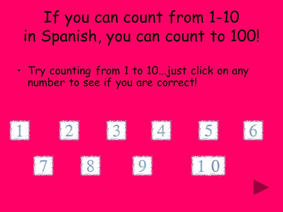 Los Numeros 0 – 100 en espanol