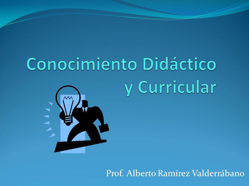 Prof. Alberto Ramírez Valderrábano
