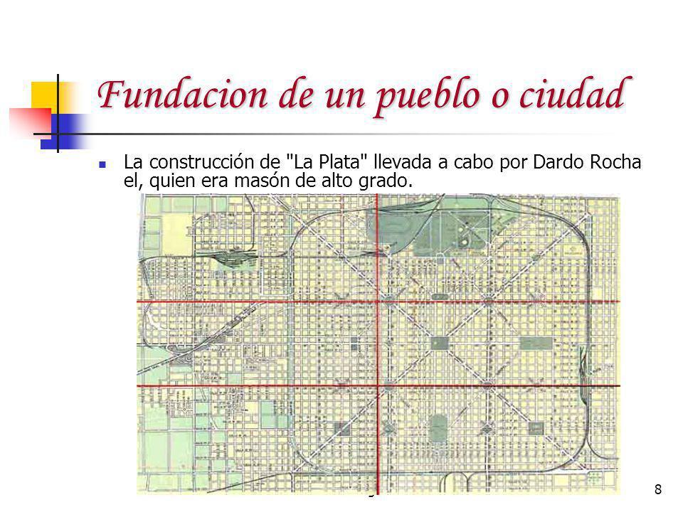 Rev. Angel Martinez8 Fundacion de un pueblo o ciudad La construcción de
