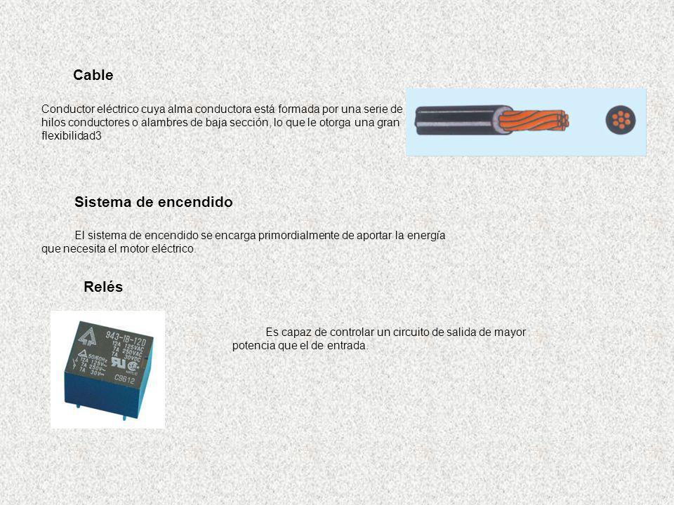 Sistema de encendido El sistema de encendido se encarga primordialmente de aportar la energía que necesita el motor eléctrico. Es capaz de controlar u