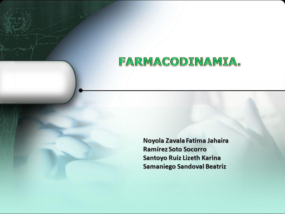 2 Estudio de los efectos bioquímicos y fisiológicos de los fármacos y sus mecanismos de acción.
