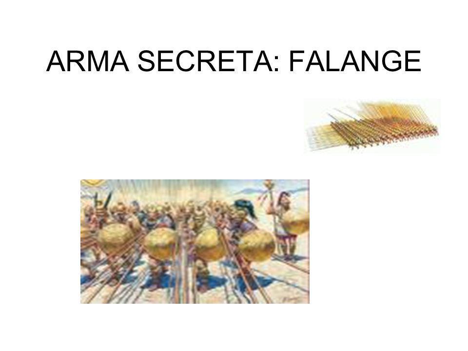 ARMA SECRETA: FALANGE