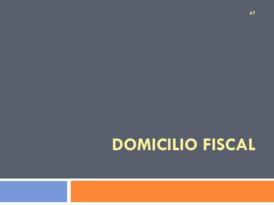 DOMICILIO FISCAL 65