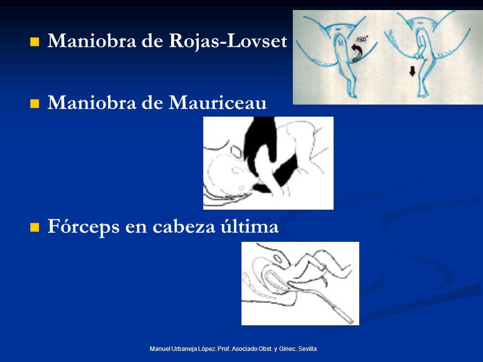 Manuel Urbaneja López.Prof. Asociado Obst. y Ginec.