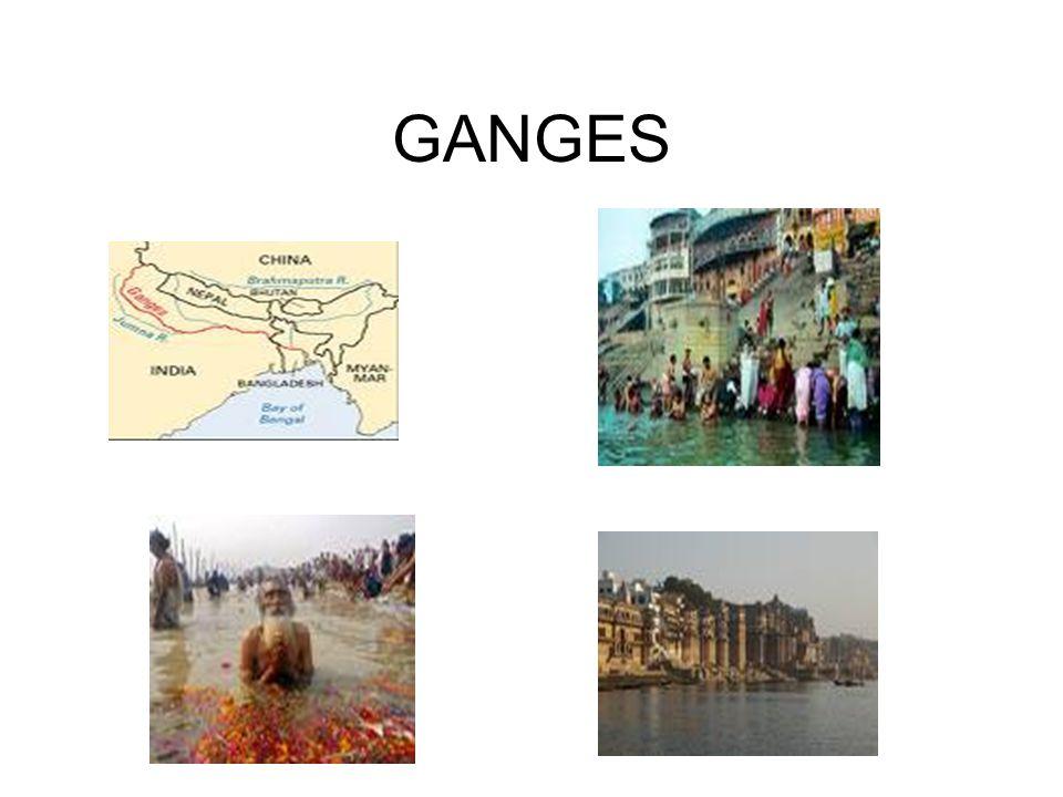 MITOLOGÍA HINDUISTA Ganges es la personificación de la diosa Ganga (don de la purificación).