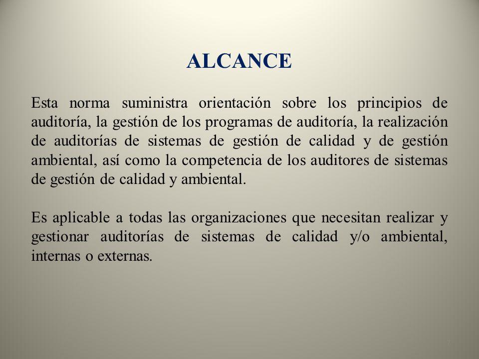 58 2.INICIO DE LA AUDITORÍA a. Designación del líder del equipo auditor.