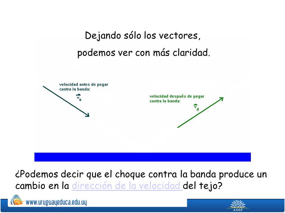 La velocidad es una magnitud vectorial: Vector: segmento de recta orientado.