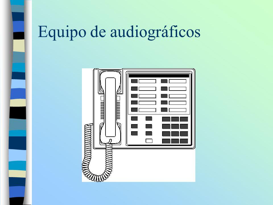 Equipo de audiográficos