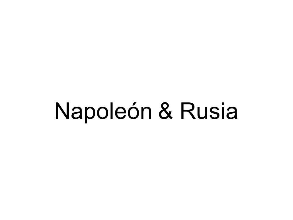 Napoleón & Rusia