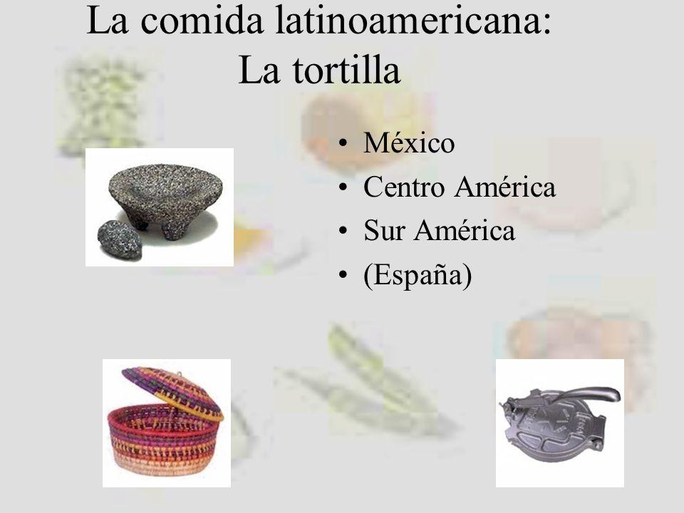 Consideraciones generales La comida en Latino América es muy diferente en las diferentes regiones No toda es picante Depende de la región Las influencias locales propias Pero hay platos que se repiten en todas partes con sus correspondientes peculiaridades.