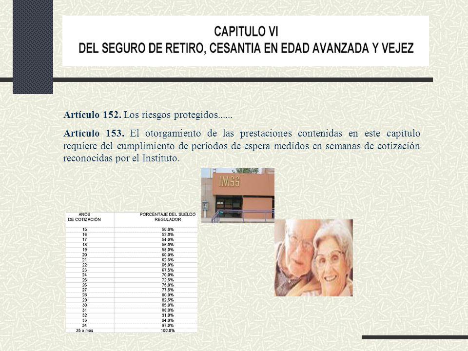 Artículo 161. Da derecho de las siguientes prestaciones: Ayuda asistencial Asignaciones Pensión