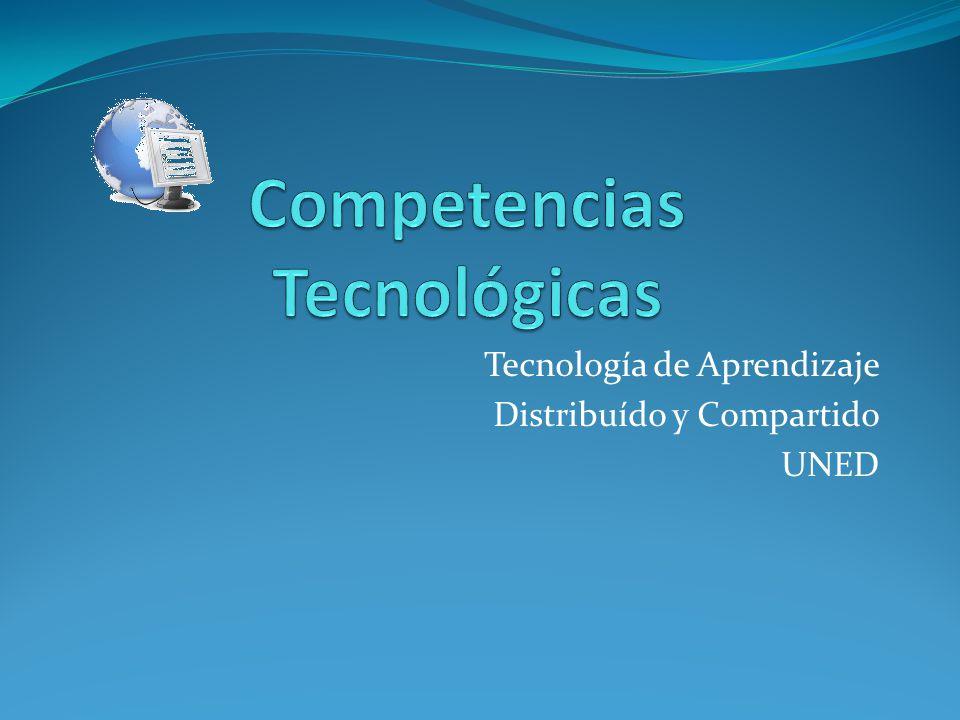 Tecnología de Aprendizaje Distribuído y Compartido UNED