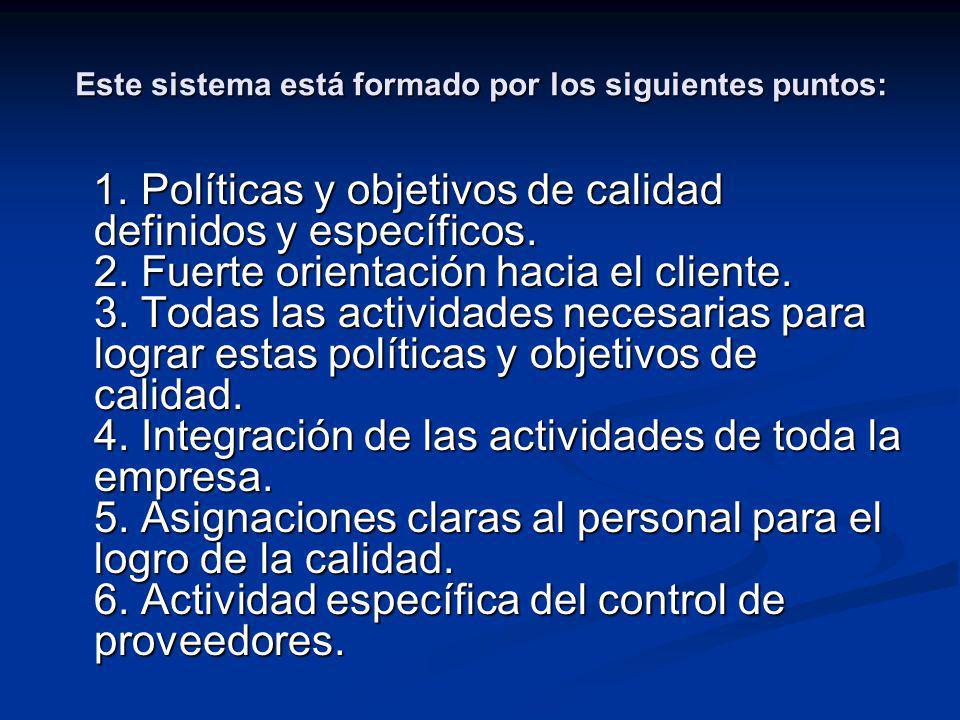 Este sistema está formado por los siguientes puntos: 7.