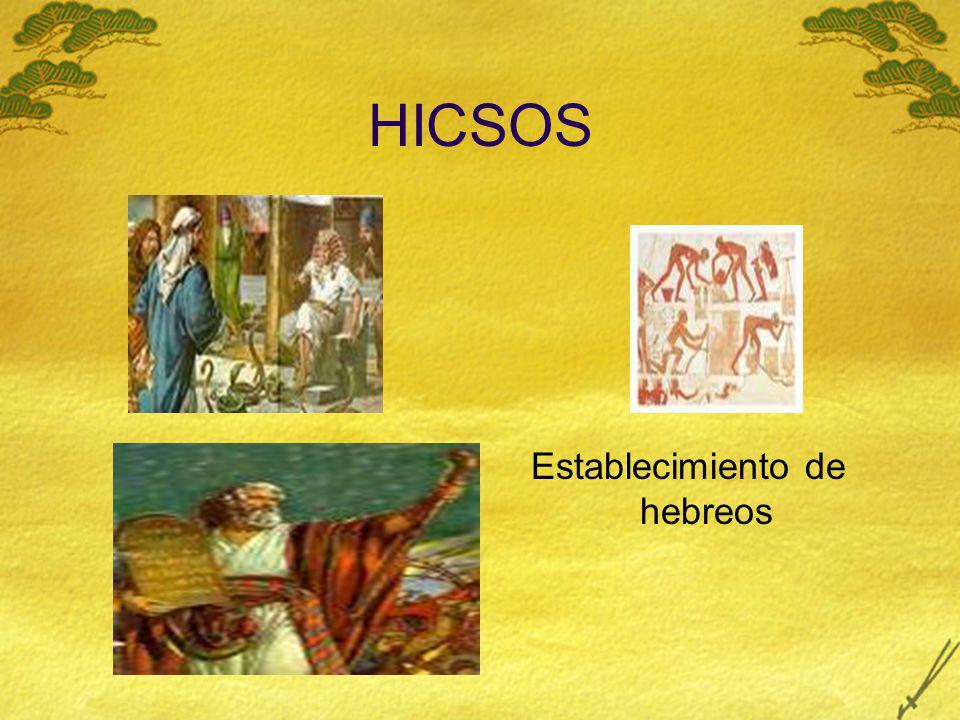HICSOS Establecimiento de hebreos