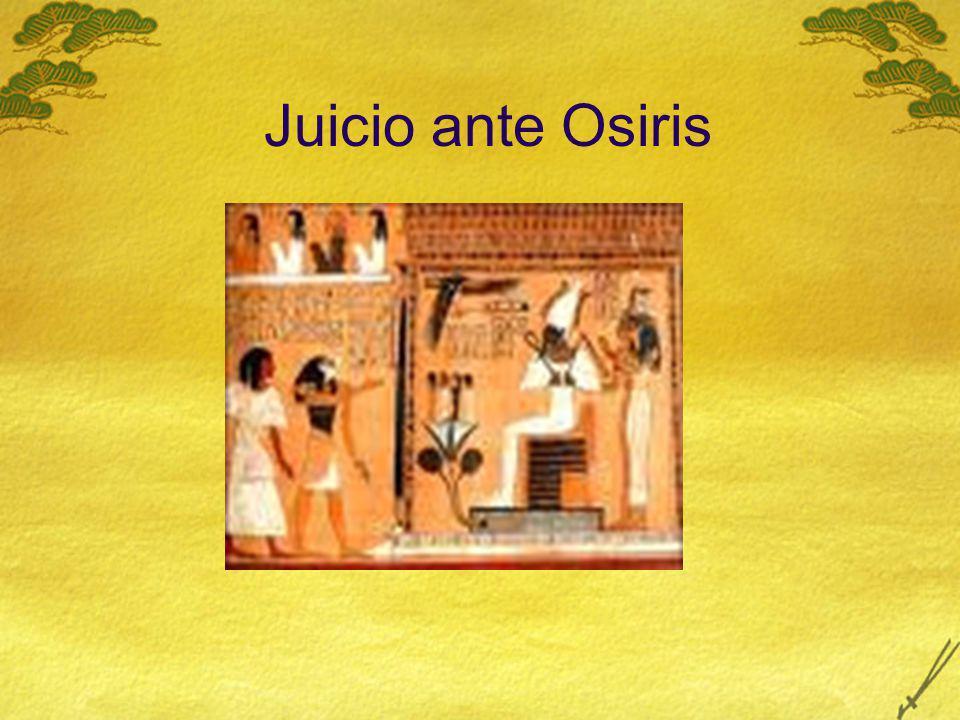 Juicio ante Osiris
