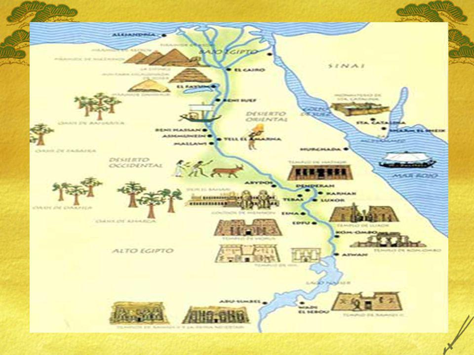 NUEVO REINO Con las armas de los Hicsos, los egipcios extienden su territorio: Sudán Etiopía Libia Asia menor