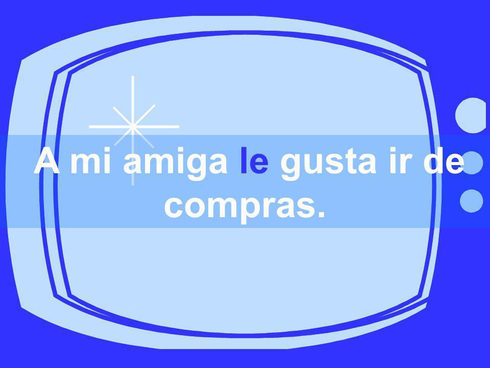 A mí ______ encanta estudiar español.