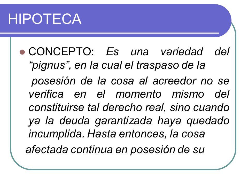 EXTINCIÓN Causales de extinción: 1) La extinción de la obligación principal: 2) Resolución del derecho del constituyente.