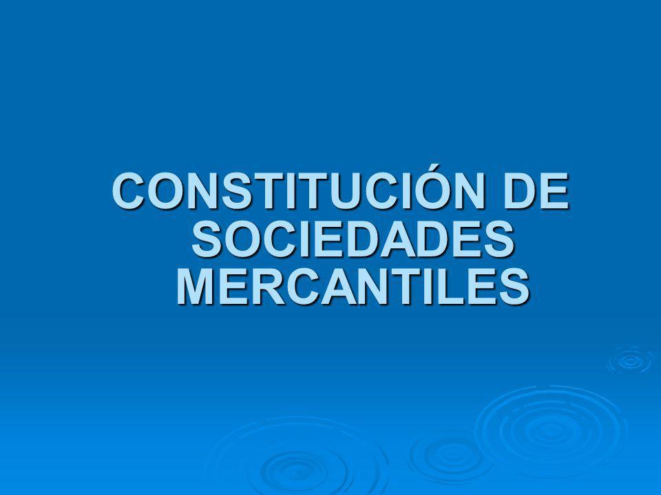 Especies de sociedades mercantiles Art.1º LGSM Art.