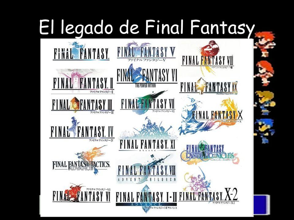 El legado de Final Fantasy