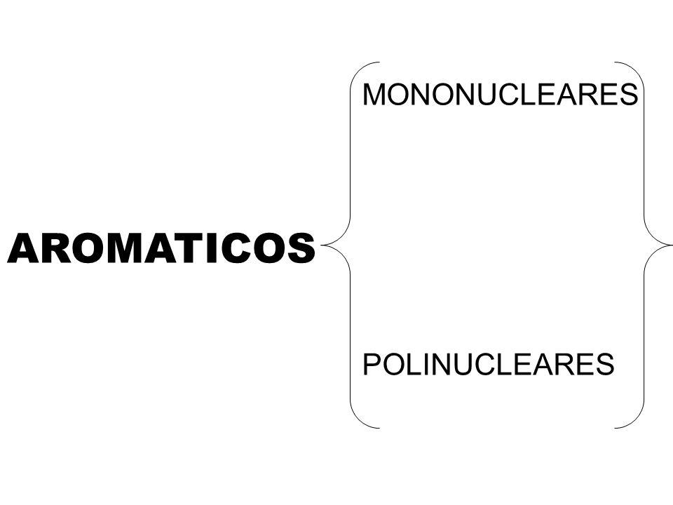 AROMATICOS MONONUCLEARES POLINUCLEARES