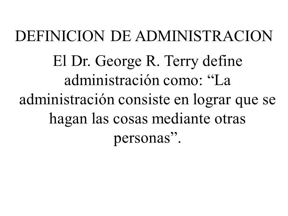 El Dr.George R.