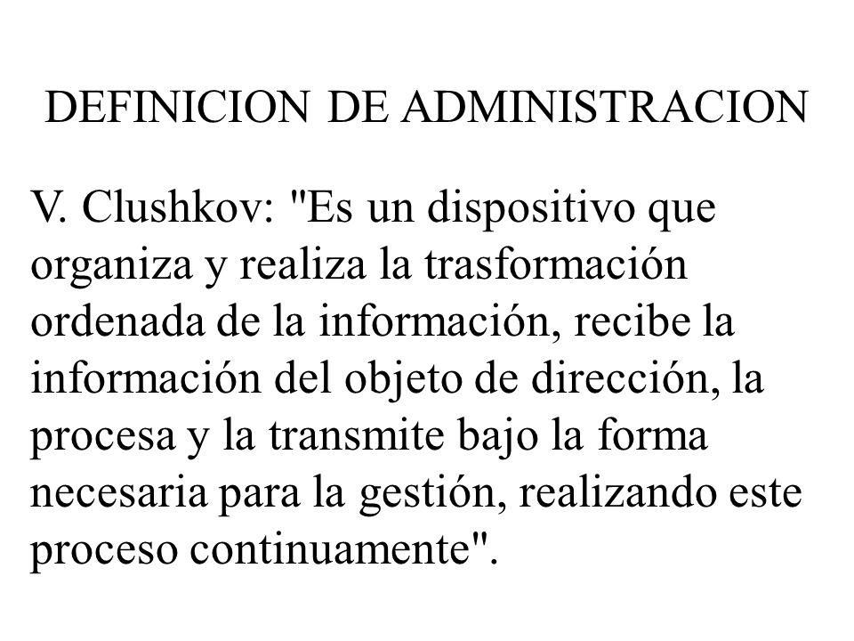 V. Clushkov: