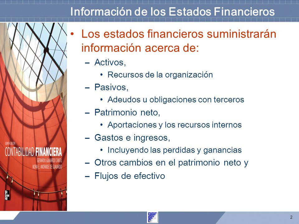 3 Sección de activos en el Balance General Se realiza en forma jerárquica, según la facilidad que tengan de convertirse en efectivo.