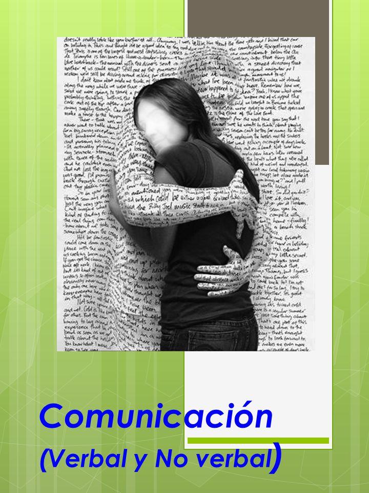 Comunicación (Verbal y No verbal )