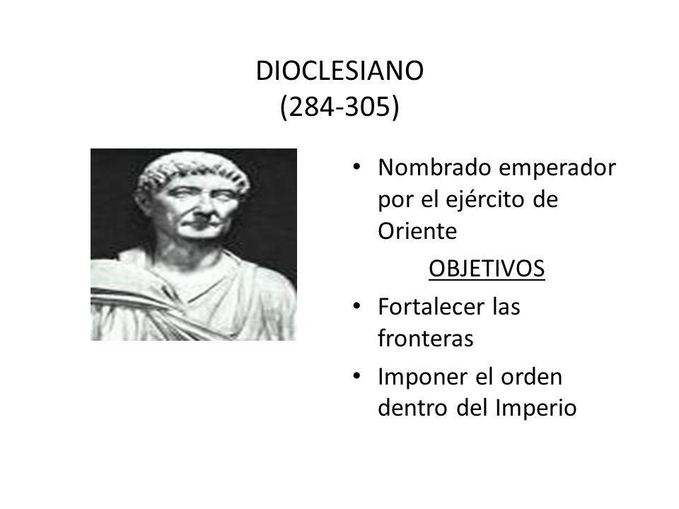 CONSECUENCIAS PARALIZACIÓN COMERCIO DEBILITAMIENTO DE LAS FRONTERAS PERSAS GERMANOS EQUILIBRIO (285)