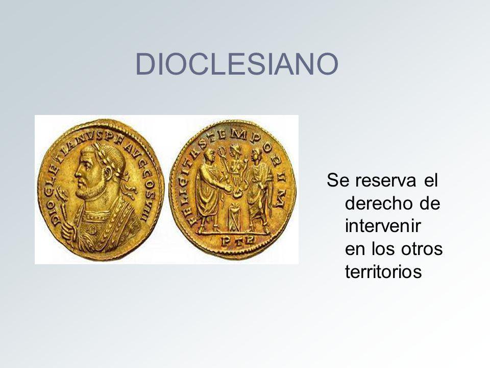 TETRARQUÍA OCCIDENTE ORIENTE MAXIMIANO (AUGUSTO) DIOCLESIANO (AUGUSTO) CONSTANCIO CLORO (CÉSAR) GALERIO (CÉSAR)