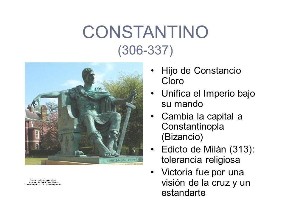 ABDICACIÓN DE MAXIMIANO Y DIOLESIANO (303) NUEVOS AUGUSTOS NUEVOS CÉSARES GUERRA CIVIL