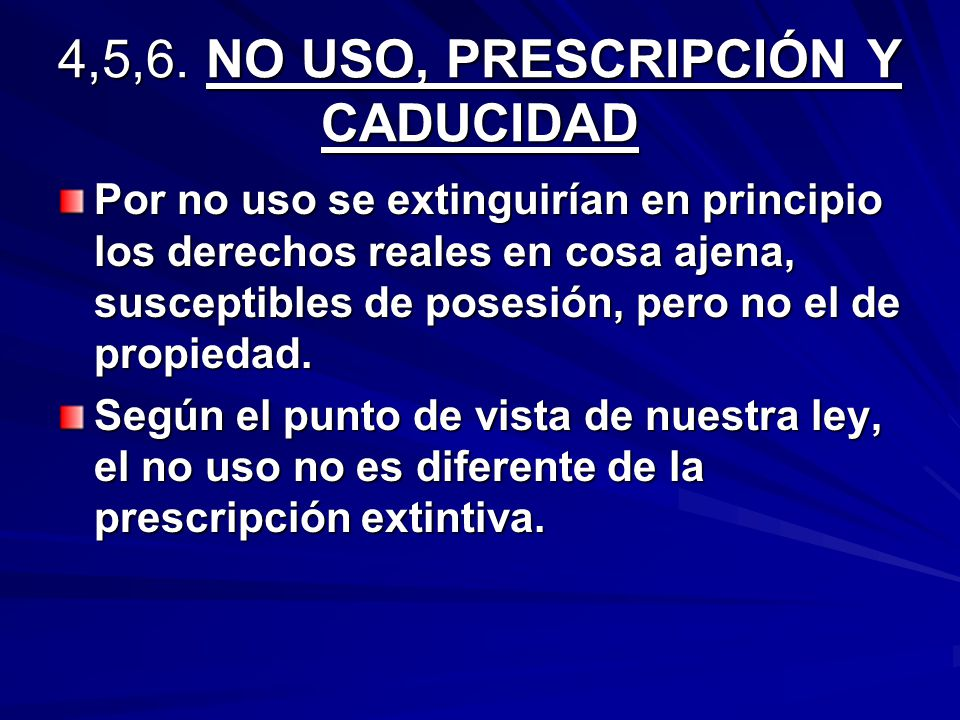 Artículo 358 del C.C.El usufructo concluye: 1. Por dejar de existir el usufructuario.